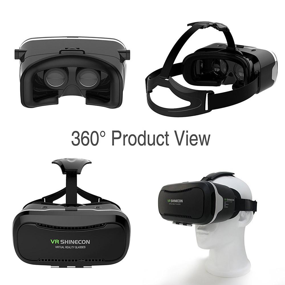Kính Thực Tế Ảo 3D Vr Shinecon 2.0 Ii -dc2310 - Thiết bị thực tế ảo VR