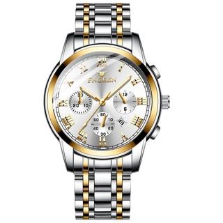[Mã FASHIONRNK giảm 10K đơn 50K] Đồng hồ nam nữ FNGEEN 4001 hàng chính hãng dây thép đặc ko gỉ thumbnail