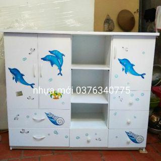 Tủ nhựa c125*145 giá 1.479.000 mp ship hà nội