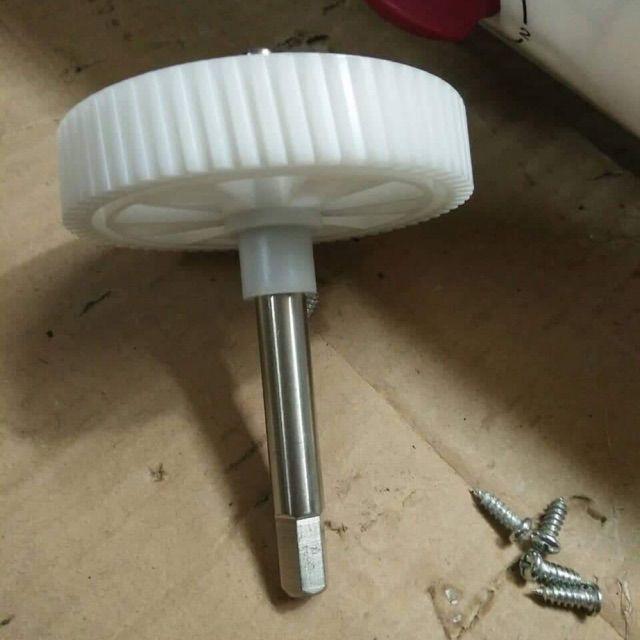(Linh Kiện) Bánh răng trục ép máy ép SAVTM JE 07 (trắng)