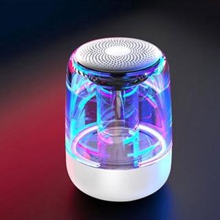 Loa Bluetooth 5.0 Không Dây Tích Hợp Đèn Led 6d Âm Thanh Siêu Trầm