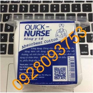 10 gói Bông gòn y tế Quick-Nurse 25g thumbnail