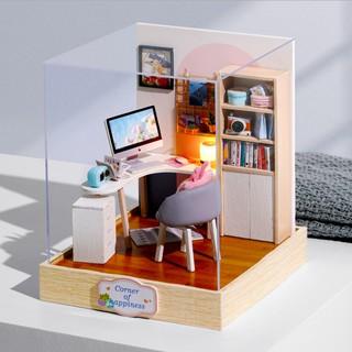 Mô hình lắp ghép nhà búp bê World of Creativity – bộ Corner of Happiness