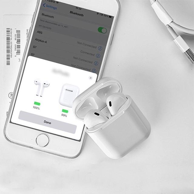 Tai nghe i12 tws dòng tai nghe bluetooth V5.0 có cảm ứng nghe nhạc gọi điện