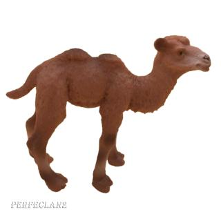 Miniature Animal Figure Camel Ornament Kids Toy Doll House Decorations