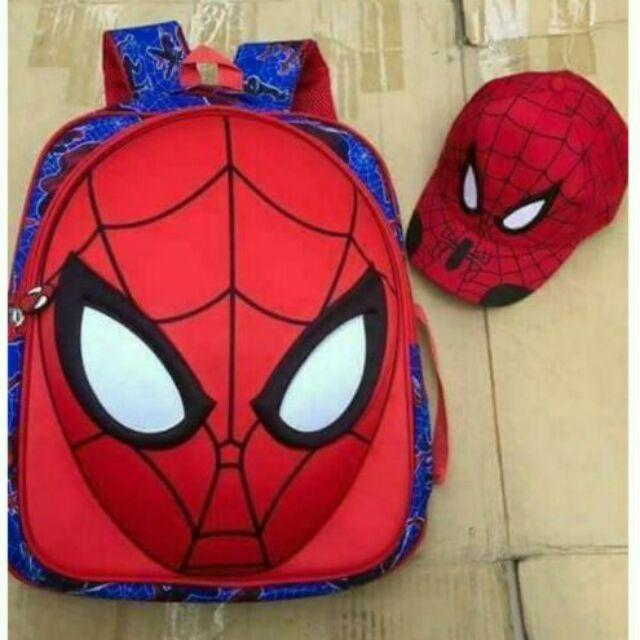 Set Balo nhện 3D và mũ nhện cho bé cỡ lớn - 9985439 , 320324101 , 322_320324101 , 99000 , Set-Balo-nhen-3D-va-mu-nhen-cho-be-co-lon-322_320324101 , shopee.vn , Set Balo nhện 3D và mũ nhện cho bé cỡ lớn