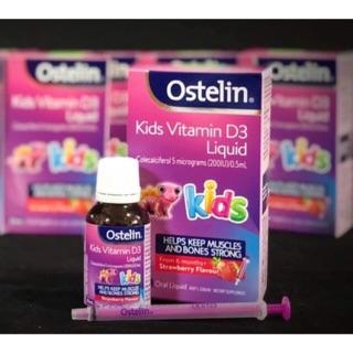 Ostelin Vitamin D Liquid Kids Dạng Nước Của Úc 20ml