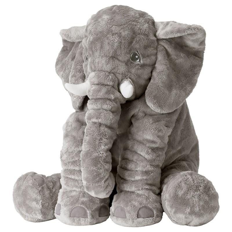 Gối ôm con voi mềm mại cho bé