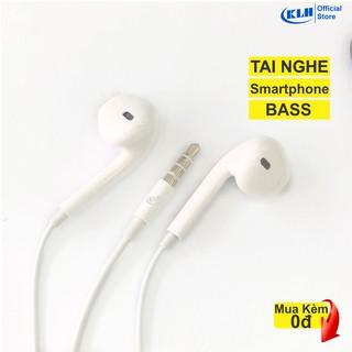 """Tai nghe chân tròn 3.5 mm, tai nghe jack tròn có mic nghe gọi, dùng cho samsung, iphone, oppo, máy nghe nhạc KLH shop Re giá chỉ còn <strong class=""""price"""">1.300.000.000đ</strong>"""