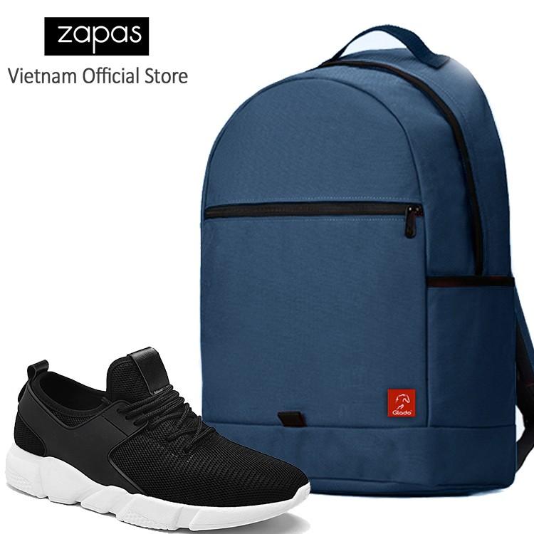 Combo Balo Du Lịch Glado Classical BLL006 (Xanh Dương) Và Giày Sneaker Thể Thao Zapas GS080 (Đen) - 3138541 , 533972822 , 322_533972822 , 630000 , Combo-Balo-Du-Lich-Glado-Classical-BLL006-Xanh-Duong-Va-Giay-Sneaker-The-Thao-Zapas-GS080-Den-322_533972822 , shopee.vn , Combo Balo Du Lịch Glado Classical BLL006 (Xanh Dương) Và Giày Sneaker Thể Thao
