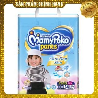 Tã quần MamyPoko XXXL cho bé gái 18 - 35kg (14 miếng) _Phương Dũng
