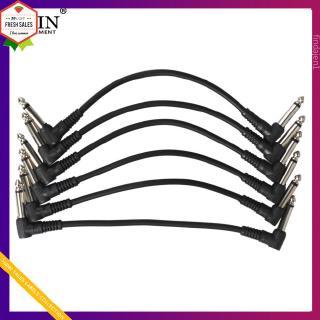 6 Pcs/set Guitar Effect Pedal Cables Connecting Line