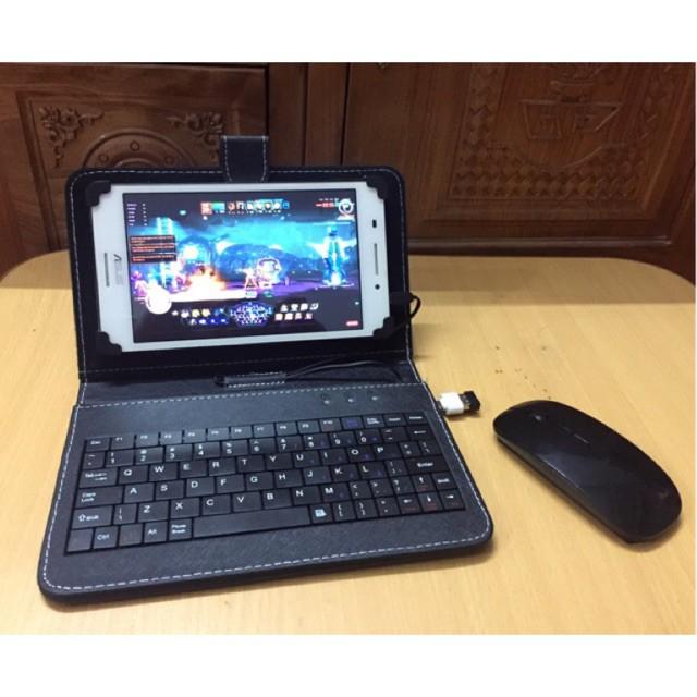 Bao da bàn phím chuột không dây bluetooth cao cấp (DB01) MS14059