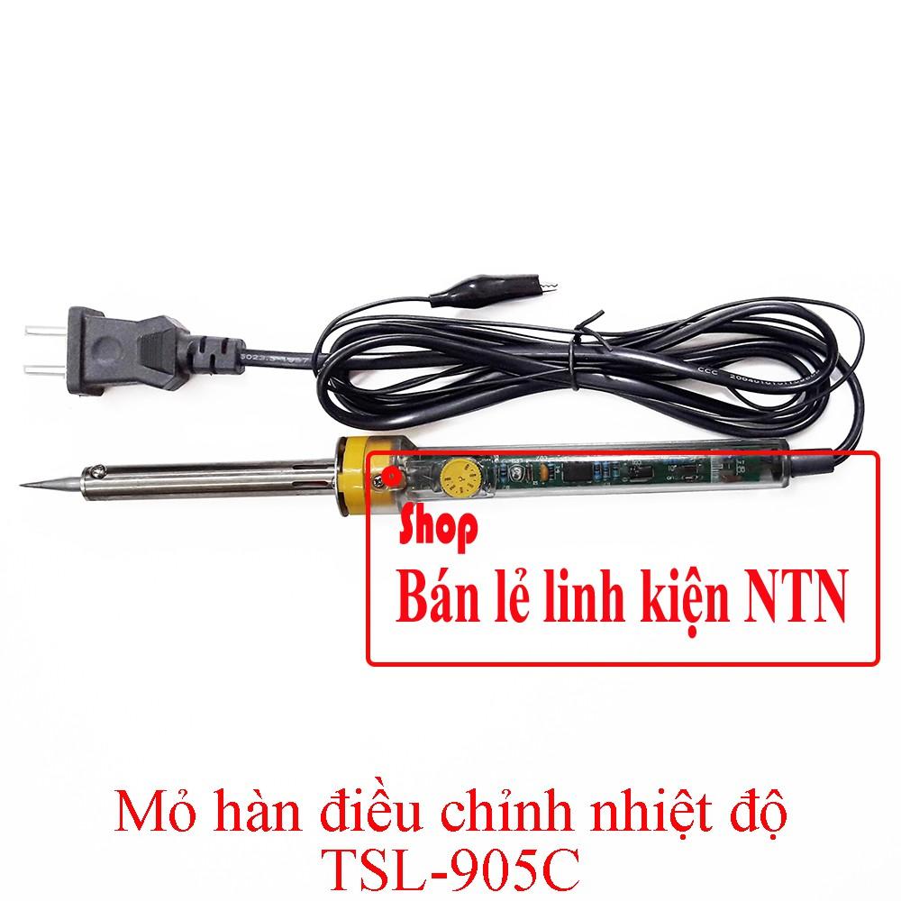 Mỏ hàn điều chỉnh nhiệt độ TSL-905C 200-400 độ - 3355959 , 1259293224 , 322_1259293224 , 129000 , Mo-han-dieu-chinh-nhiet-do-TSL-905C-200-400-do-322_1259293224 , shopee.vn , Mỏ hàn điều chỉnh nhiệt độ TSL-905C 200-400 độ