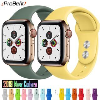 Dây Apple Watch Cao Su Chống Bẩn Siêu Đẹp Seri 5 4 3 2 1