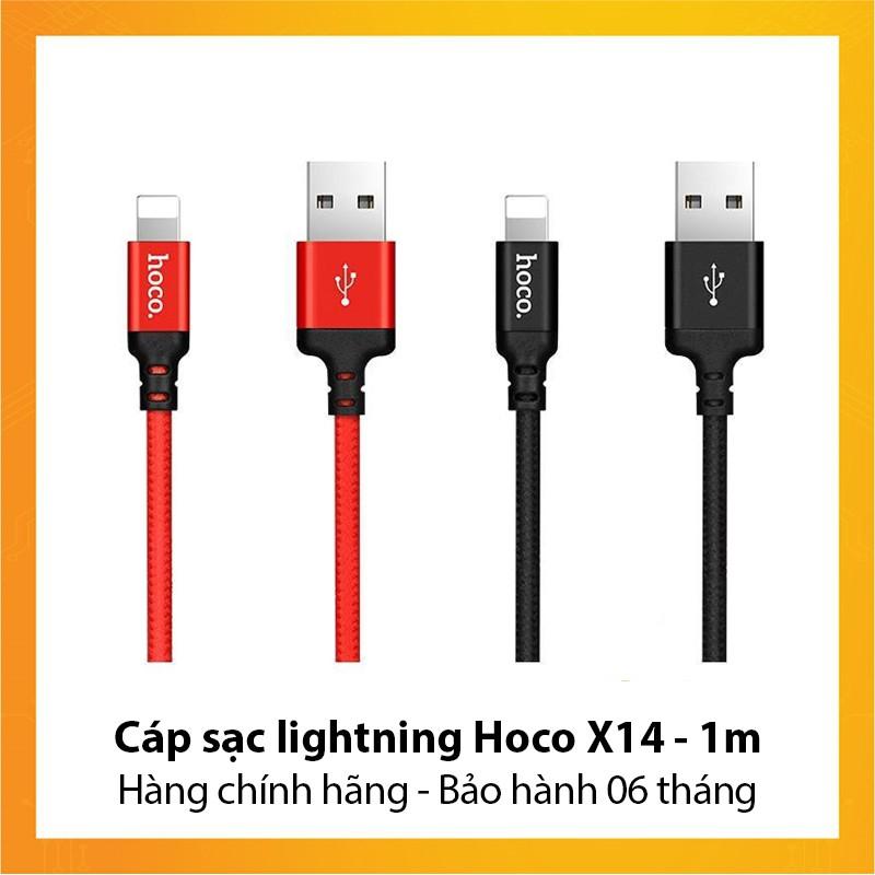 Cáp sạc lightning Hoco X14 dài 1m - Hàng chính hãng - Bảo hành 6 tháng - 9947481 , 1046620214 , 322_1046620214 , 59000 , Cap-sac-lightning-Hoco-X14-dai-1m-Hang-chinh-hang-Bao-hanh-6-thang-322_1046620214 , shopee.vn , Cáp sạc lightning Hoco X14 dài 1m - Hàng chính hãng - Bảo hành 6 tháng