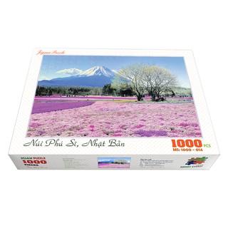 Bộ tranh xếp hình cao cấp 1000 mảnh ghép – Núi Phú Sĩ, Nhật Bản