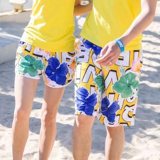 Quần đôi theo cặp nam nữ đi biển 2019 màu sắc nhã nhặn thumbnail