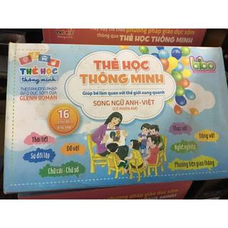 Bộ thẻ học thông minh Song ngữ Anh – Việt 16 chủ đề