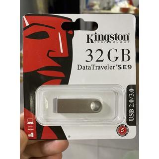 [Mã ELFLASH5 giảm 20K đơn 50K] USB Kingston SE9 4GB 8GB 16GB 32GB 64GB Chống Nước