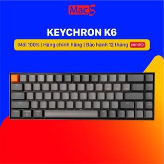 Keychron K6 – Bàn phím cơ Keychron K6 Bản Nhôm
