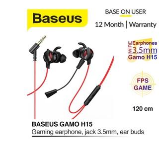 Tai nghe gaming Baseus Gamo H15 3.5mm Dual Microphone có thể tháo rời