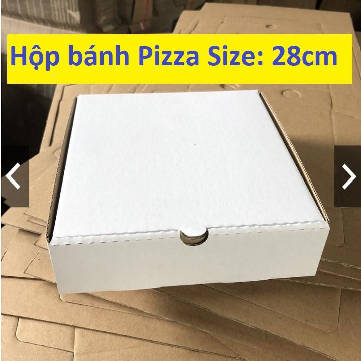 Combo 05 Hộp đựng bánh Pizza Size: 28 cm