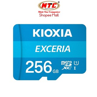 Thẻ nhớ MicroSDXC Kioxia Exceria 256GB UHS-I U1 100MB/s (Xanh)