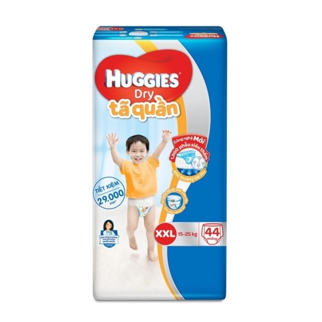 Tã quần Huggies XXL44 cho bé 15-25kg