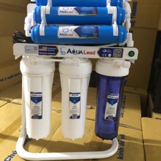 [Mã ELOCT300 Giảm 6% Tối Đa 300k] Bộ lọc nước ro Aqua lead từ 8-11 cấp kèm chân máy lắp gầm