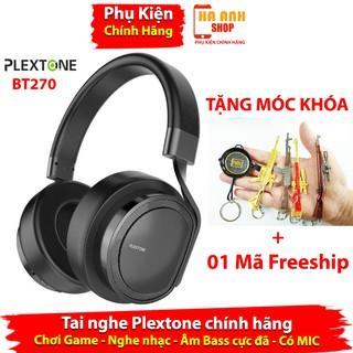 Tai nghe bluetooth Plextone BT270 không dây cao cấp - Bass nghe cực sâu