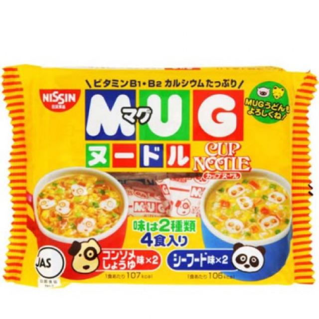 Mì Ăn Dặm Mug Nissin Nhật Bản Vị Hải Sản/vị thịt heo