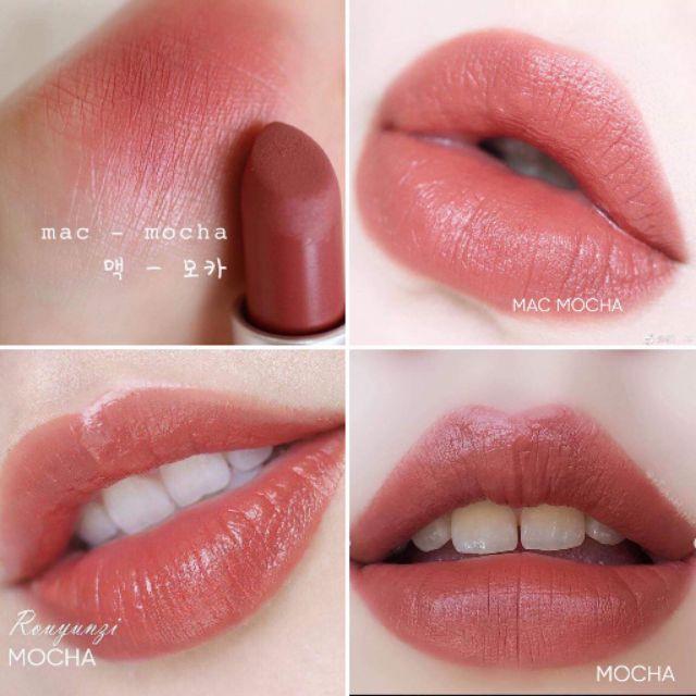 Kết quả hình ảnh cho mac mocha mini lipstick