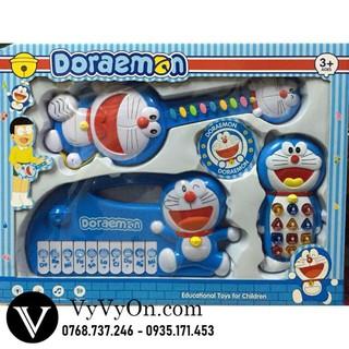 Bộ đồ chơi 3 đàn Dorremon