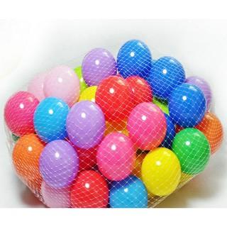 Túi 100 bóng nhựa mềm an toàn cho trẻ