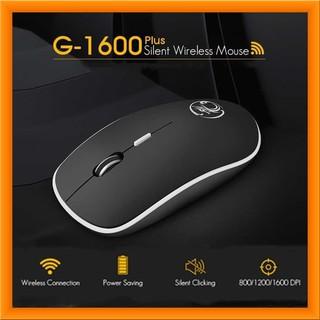 Chuột không dây iMICE G-1600 Chính hãng (Click không kêu) thumbnail