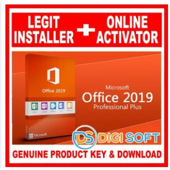 MS Office Professional Plus 2019 for Windows 10 - MS Office
