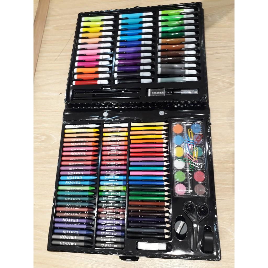 Hộp Bút Chì Màu 150 Chi Tiết Loại đẹp Giảm Chỉ Còn 150000 đ