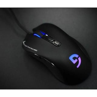 Chuột Fuhlen G90 Evo – chuột Gaming vs thiết kế body – Đèn led thay đổi màu logo tinh sảo trong đêm