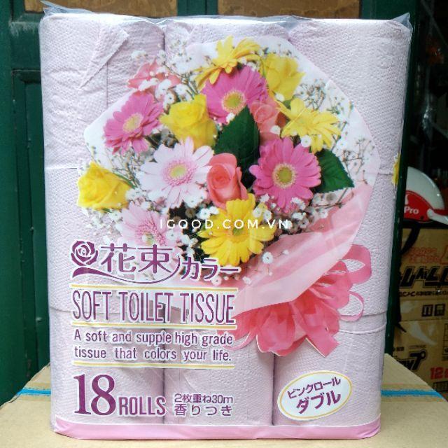 Lốc 18 cuộn giấy vệ sinh Nhật Bản kháng khuẩn - 2450779 , 489960425 , 322_489960425 , 200000 , Loc-18-cuon-giay-ve-sinh-Nhat-Ban-khang-khuan-322_489960425 , shopee.vn , Lốc 18 cuộn giấy vệ sinh Nhật Bản kháng khuẩn