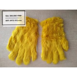 Găng tay tôn ngộ không (vàng tươi)