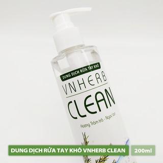 Nước Rửa Tay Khô - VNHERB CLEAN (200ml)-1
