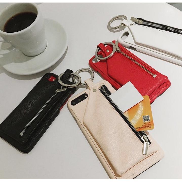 Ốp điện thoại kiêm ví đựng tiền phong cách Hàn Quốc cho iPhone 6 6s 6plus 7 8plus X XS XR XSMAX11 pro max