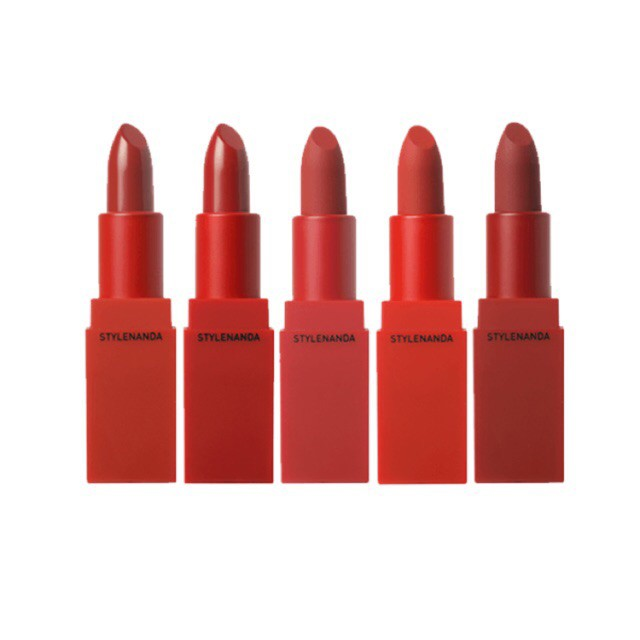 Son thỏi lì 3CE RED RECIPE LIP MATTE COLOR