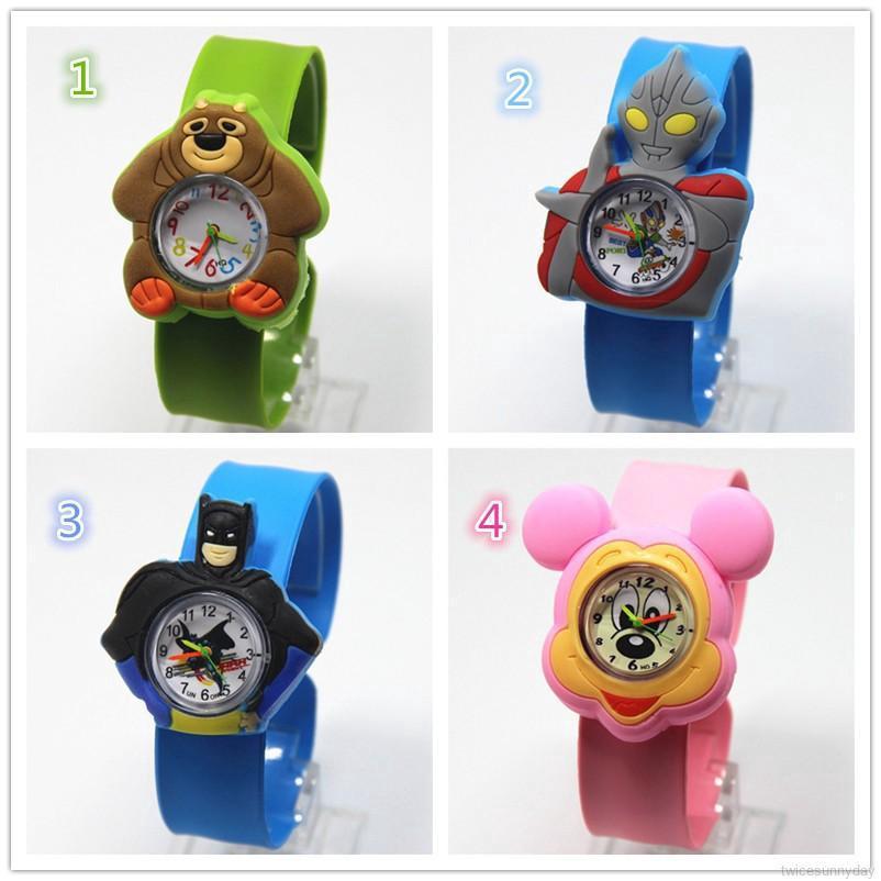 Đồng hồ điện tử thiết kế dễ thương cho trẻ em