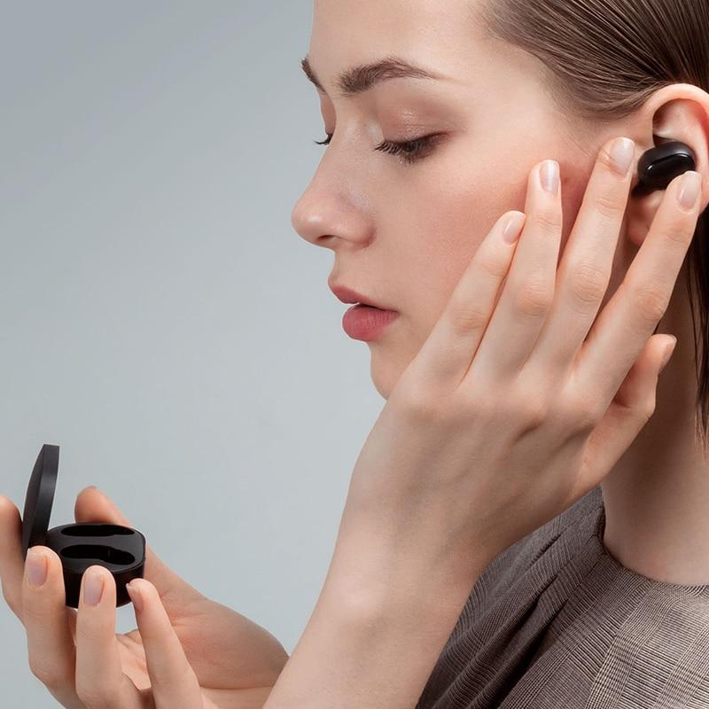 Tai nghe Bluetooth Xiaomi Redmi AirDots không dây 5.0 TWS chất lượng cao tiện dụng