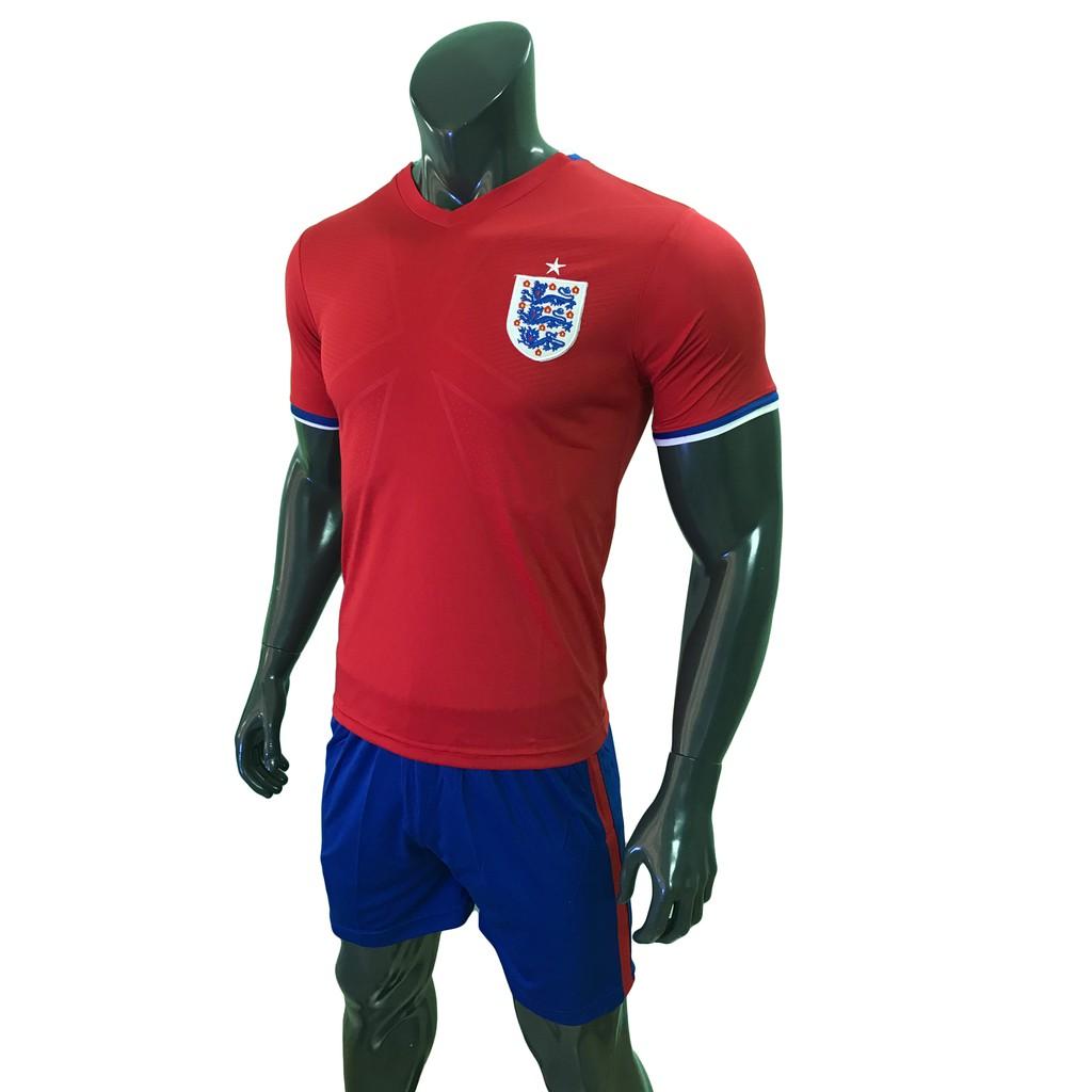 Bộ Đồ Đá Banh Đội Tuyển Anh đỏ 2016