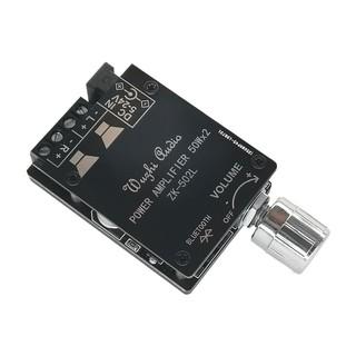 Mạch Khuếch Đại Âm Thanh Bluetooth 2*50W ZL-502L Kèm Vỏ Mica - 6F3