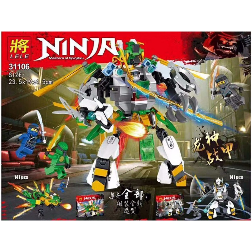 Lego ninja no.31106 141 chi tiết