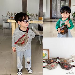 Túi đeo chéo ngực phong cách Hàn Quốc dành cho bé trai bé gái thời trang